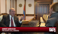 Italian Rai-Radiotelevisione Italiana prepared an extensive program about Armenia: President Armen Sarkissian wants to make the country a leader in the area of artificial intelligence