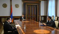 President Armen Sarkissian received the Ombudsman of Armenia: the parties stressed the importance of human rights protection in the situation conditioned by the pandemic
