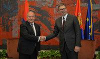 Սերբիան պատրաստակամ է կորոնավիրուսի դեմ պայքարում աջակցել Հայաստանին. նախագահ Արմեն Սարգսյանը հեռախոսազրույց է ունեցել նախագահ Ալեքսանդար Վուչիչի հետ
