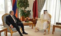 Президент Армен Саркисян по случаю дня рождения направил поздравительное послание Эмиру Катара