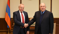 President Sarkissian congratulated Ambassador of the Russian Federation on the occasion of Russia Day: Armenian-Russian relations are based on deep trust between the two peoples