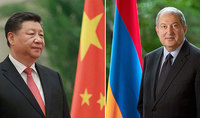 President Sarkissian sent a message to the President of China Xi Jinping: In the fight against the pandemic, we rely also on the assistance of our friends