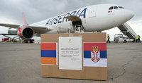 Դժվարին ժամանակներում օգնությունը Հայաստանի ժողովրդին լավ ապագայի երաշխիքն է. որպես Հայաստանի և Սերբիայի նախագահների պայմանավորվածությունների շարունակություն՝ Երևանում վայրէջք կատարեց սերբական օգնությամբ երկրորդ ինքնաթիռը