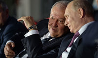 """Vladimir Putin congratulated Armen Sarkissian: """"Russia highly values your active engagement in the development of the Russian-Armenian allied relations"""""""