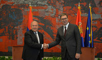 """President of Serbia Aleksandar Vučić congratulated President Sarkissian on the occasion of his birthday anniversary: """"I appreciate your input in the development of the Armenian-Serbian relations based on mutual respect and trust"""""""