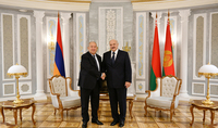 President Sarkissian sent a congratulatory message to Alexander Lukashenko on the occasion of the Independence Day of Belarus