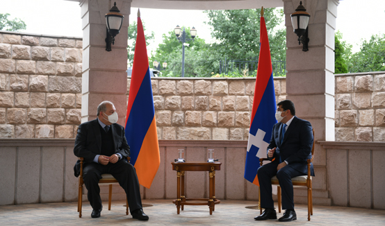 President Armen Sarkissian met with the President of Artsakh Araik Harutyunian: elections proved that Artsakh is not only stout and strong but also a democratic country