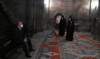 President Sarkissian visited Gandzasar monastery compound