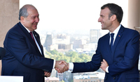 President Armen Sarkissian sent a congratulatory message to Emmanuel Macron: Armenia is greatly interested in new programs aimed at the expansion and deepening of a mutually beneficial cooperation with France