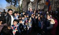 Նախագահ Արմեն Սարգսյանն իր զորակցությունն ու շնորհակալությունն է փոխանցել տավուշցիներին