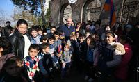 President Armen Sarkissian sent his support and gratitude to the residents of Tavush