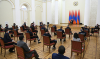 President Armen Sarkissian received the team of German medical workers: I want you to take with you affection and appreciation you will see in Armenia
