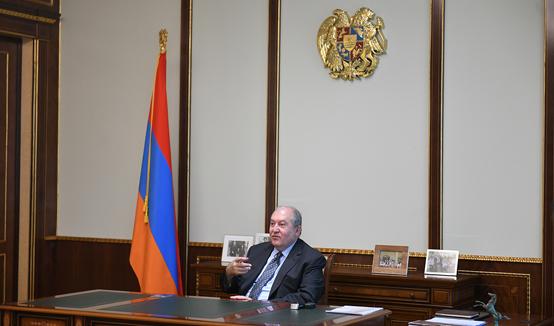 Президент Армен Саркисян принял для прощальной встречи временного поверенного в делах Соединённого Королевства в Армении