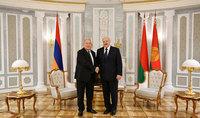 Նախագահ Արմեն Սարգսյանը շնորհավորել է Ալեքսանդր Լուկաշենկոյին` Բելառուսի նախագահի պաշտոնում վերընտրվելու առթիվ