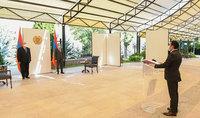 В Резиденции Президента состоялась церемония клятвы Министра окружающей среды РА