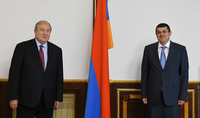 President Sarkissian spoke on the phone with the President of the Republic of Artsakh