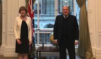 Президент Армен Саркисян встретился с Министром Соединённого Королевства по вопросам Европейского соседства и Америк