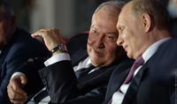 Отношения между нашими странами основываются на добрых традициях дружбы и взаимного уважения - Президент РФ Владимир Путин поздравил Президента Армена Саркисяна