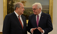 President Steinmeier sent a congratulatory message to President Armen Sarkissian: Germany will continue to stand by Armenia as a reliable partner