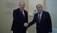 Անչափ կարևոր է ՄԱԿ-ի աշխատանքների շրջանակում Ձեր երկրի ներգրավվածությունը միջազգային օրակարգերում. Անտոնիո Գուտերեշը շնորհավորել է նախագահ Արմեն Սարգսյանին