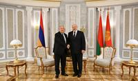 Նախագահ Արմեն Սարգսյանին Անկախության տոնի առթիվ շնորհավորել է Ալեքսանդր Լուկաշենկոն