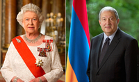 On the occasion of Independence Day President Armen Sarkissian received congratulations from Queen Elizabeth II