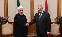 Նախագահ Արմեն Սարգսյանին Անկախության տոնի առթիվ շնորհավորել է Իրանի Իսլամական Հանրապետության նախագահ Հասան Ռոհանին