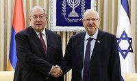 Անկախության տոնի առթիվ նախագահ Արմեն Սարգսյանին շնորհավորել է Իսրայելի նախագահը