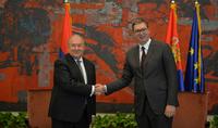 Существует взаимное желание улучшить сотрудничество – Президента Саркисяна поздравил Президент Сербии Александр Вучич