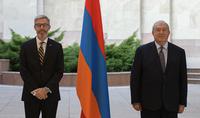 Президент Саркисян принял верительные грамоты посла Королевства Швеции в Армении