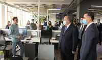 President Armen Sarkissian visited FAST Foundation: my goal is to create an environment in Armenia in which young Armenians will not leave Armenia to seek innovations