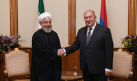 President Armen Sarkissian received congratulations from the President of Iran on the occasion of Independence Day