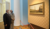 Venice in a sense is also an Armenian city: under the high auspices of the Presidents of Armenia and Italy an exhibition of exceptional pieces of Italian art will be on display at the Presidential Palace