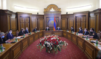 President Armen Sarkissian participated at the extraordinary session of the RA Security Council