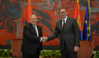 President of Serbia Aleksandar Vučić congratulated President Sarkissian: there is great potential for improving the existing cooperation