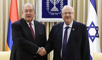 On the occasion of Independence Day, President Armen Sarkissian received congratulations from the President of Israel