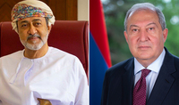 President Armen Sarkissian sent a letter to the Sultan of Oman on the military actions instigated by Azerbaijan