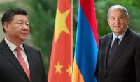 President Armen Sarkissian congratulated President Xi Jinping on the 71st anniversary of creation of the People's Republic of China