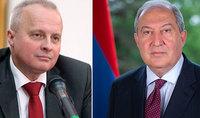 Президент Саркисян встретился с послом Российской Федерации в Армении Сергеем Копыркиным