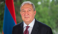 Our powerful and strong Diaspora is a genuine army, who supports the Homeland and the courageous Armenian Army. President Armen Sarkissian's message to the Diaspora