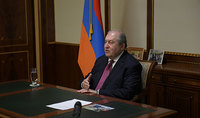 Turkey is a threat to the whole region: President Armen Sarkissian's interview to the Indian WION TV channel