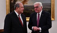 Президент Армен Саркисян по случаю Дня единства поздравил Президента Германии Франка-Вальтера Штайнмаера
