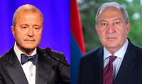 President Sarkissian spoke on the phone with Vache Manoukian: PharmaTech Company will supply the Army with necessary solutions and medication at no cost