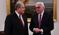 President Armen Sarkissian congratulated President of Germany on the occasion of Unity Day