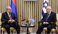 Президент Армен Саркисян имел телефонный разговор с Президентом Государства Израиль Реувеном Ривлиным