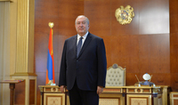 Президент Республики Армен Саркисян направил поздравительное послание по случаю Дня учителя.