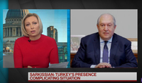 President Armen Sarkissian's interview to Bloomberg: meeting of the Ministers of Foreign Affairs is an absolute necessity to stop the fighting. Thank you to the President of Russia Putin for organizing it