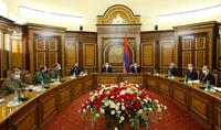 Президент Армен Саркисян принял участие во внеочередном заседании Совета Безопасности