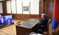 Россия именно та страна, которая может быть посредником, чтобы остановить военные действия. Интервью Президента Армена Саркисяна телекомпании «Дождь».