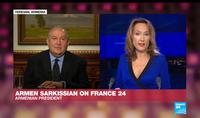 Ե՞րբ է միջազգային հանրությունը ճնշում գործադրելու Թուրքիայի վրա, որպեսզի այդ երկիրը դուրս գա այս հակամարտությունից. նախագահ Արմեն Սարգսյանը` France 24-ին